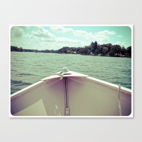 Sometime This Life, I'm Going to Sail Away Canvas Print