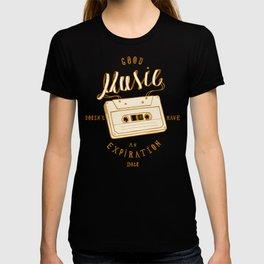 Good Music Cassette T-shirt