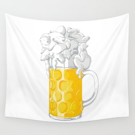 Ice Cold Bee(a)rs Wall Tapestry