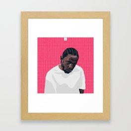 Kenny '17 Framed Art Print