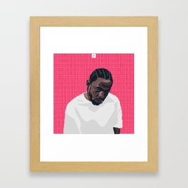 Kenny '17 Framed Art Print