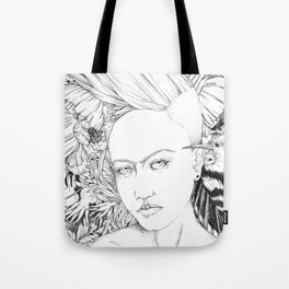 Pomegranate Frida Tote Bag
