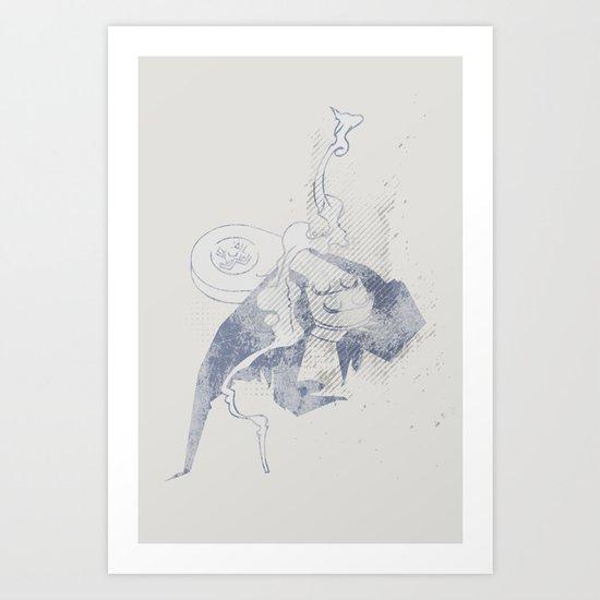 Take Ctrl SNES Art Print