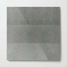"""Spring light grey horizontal lines"" Metal Print"