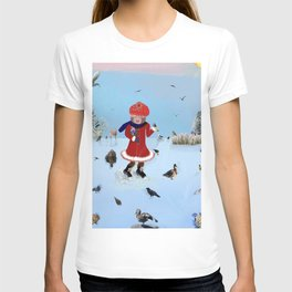 Little girl with friends T-shirt
