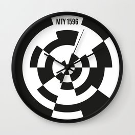 Monterrey 1596 Wall Clock