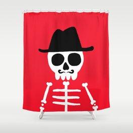 El Skeletor Shower Curtain