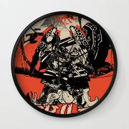 Debiruman Wall Clock