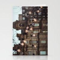 the lights Stationery Cards featuring Lights by Errne