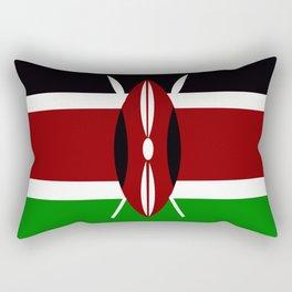 Flag of Kenya Rectangular Pillow