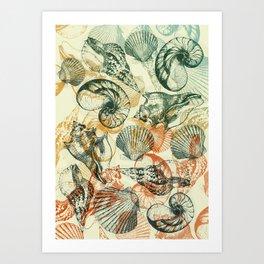 frutti di mare Art Print