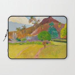 Tahitian Landscape by Paul Gauguin Laptop Sleeve
