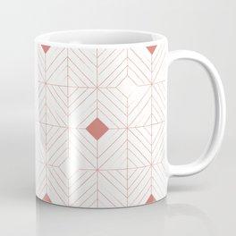 Diamonds Coral Coffee Mug