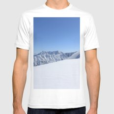 May in AK MEDIUM White Mens Fitted Tee