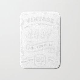 Vintage-1997---20th-Birthday-Gift-Idea Bath Mat