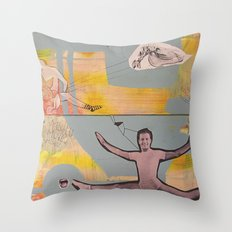 there is something about life Throw Pillow