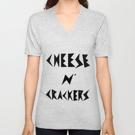 Cheese N' Crackers Unisex V-Neck
