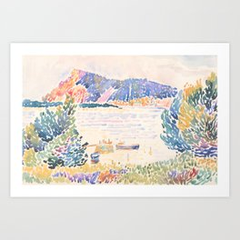 Cap Nègre by Henri-Edmond Cross 1909, French Art Print