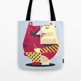 Two Bears Tote Bag