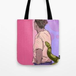 #inktober2016:surprise! Tote Bag