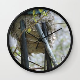 Chime of the Bees Wall Clock