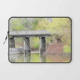 Soft Colours of Spring Reflected Laptop Sleeve
