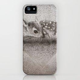 Dotty Deer iPhone Case