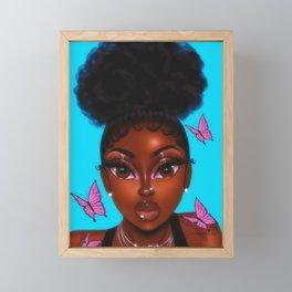 4CGurl Framed Mini Art Print