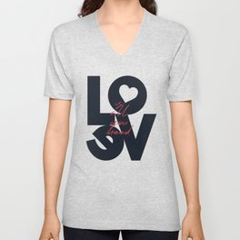 All you need is love, The Beatle music quote, Valentine's Day, just married, couples gift, present Unisex V-Neck