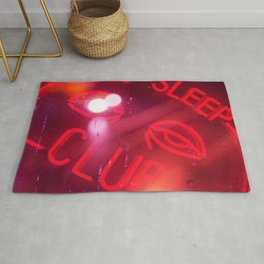 No Time to Sleep Rug