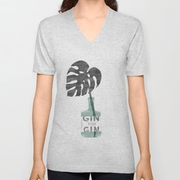 Urban Jungle No. 4 Unisex V-Neck