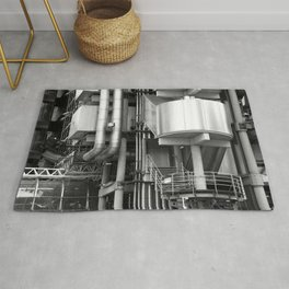 Lloyds building stucture Rug