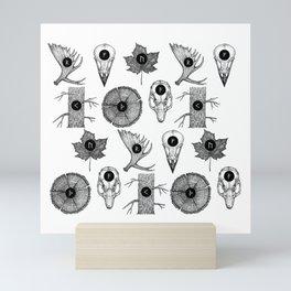 RUNES Mini Art Print