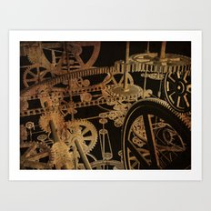 The Inner Workings Art Print