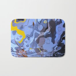 Abstract Composition 548 Bath Mat