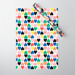 Diamond Hearts New Wrapping Paper