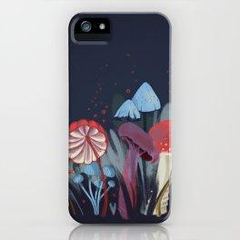 Wild Mushrooms iPhone Case