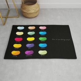 Every emotion beans Rug