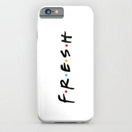 Fresh Friends Style Logo   iPhone Case