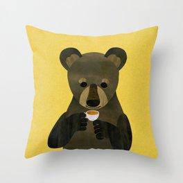Rest time Throw Pillow