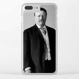 Theodore Roosevelt - 26th President of United States of America Clear iPhone Case