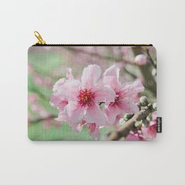 Peach Blossoms 15 Carry-All Pouch