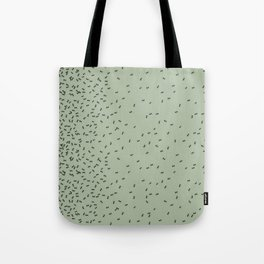 ANTS GREEN (BIG RUG) Tote Bag