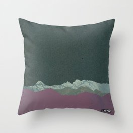 SURFACE #4 // CASTLE Throw Pillow
