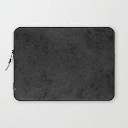 Black suede Laptop Sleeve