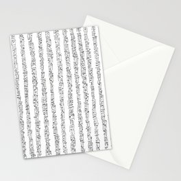 Zen Master asemic calligraphy for home & office decoration Stationery Cards