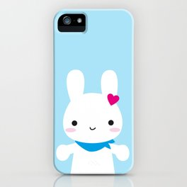 Super Cute Kawaii Bunny iPhone Case