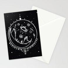 DESERT MOON SHELTER Stationery Cards