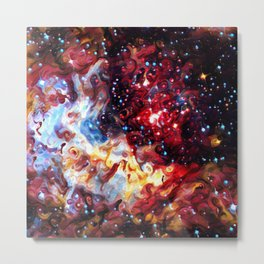 ALTERED Large Magellanic Cloud Metal Print