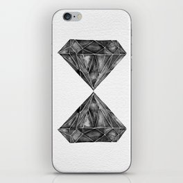 Black Diamond iPhone Skin